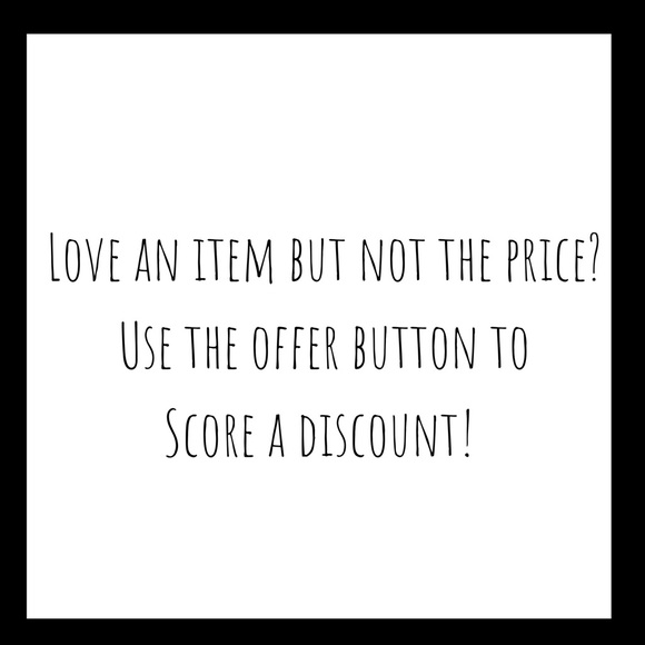 Accessories - I love offers!